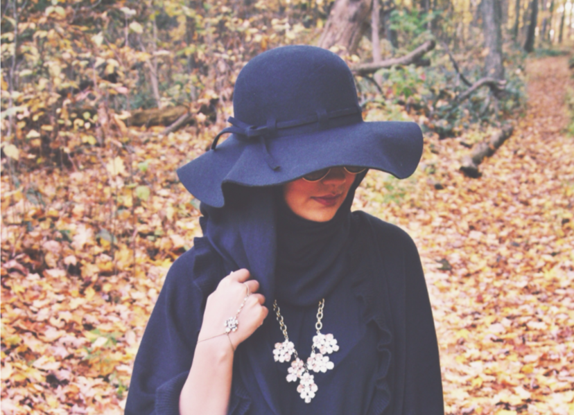 Stop Thinking that Wearing Hats with Hijabs Is Taboo  90e7aba42e3