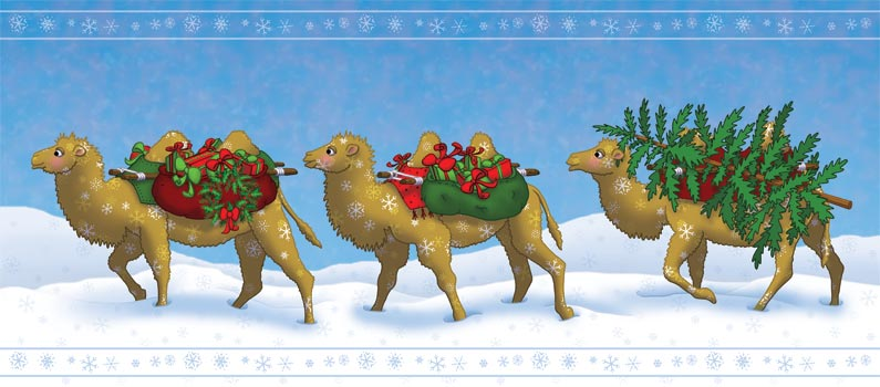 Christmas-Camels