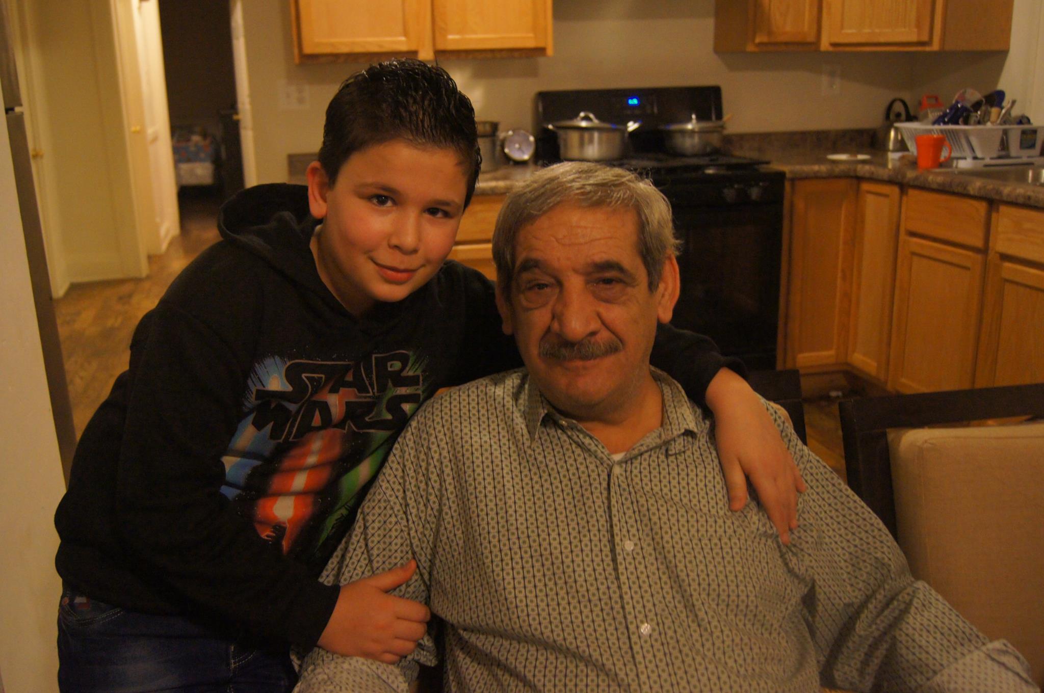 Zakarya and his uncle Sobhe Turkmani