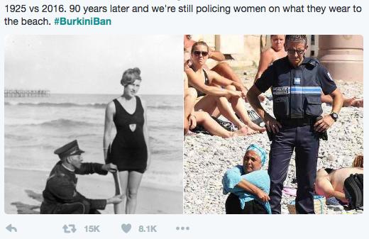 ae44b076c2 Enforcing the Burkini Ban Is Still Body Policing Women | Muslim Girl