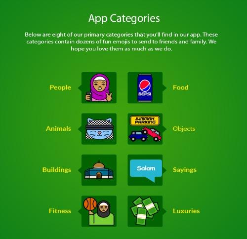 Isalmoji App Categories-sm