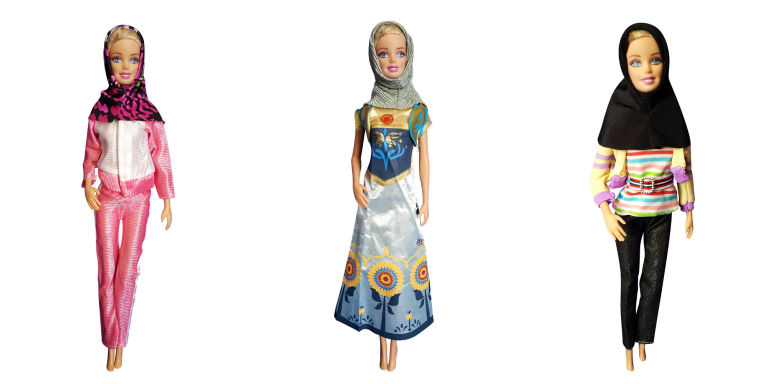 modest dolls