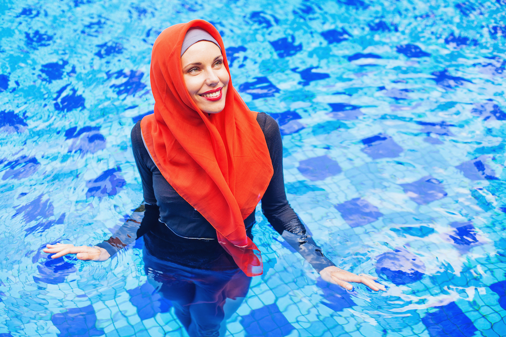 0d2da7348c77 Here's What Muslim Women Really Want in Modest Swimwear | Muslim Girl